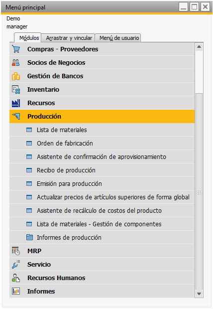 produccion y recursos